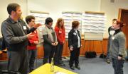 Foto eines Workshops der Fachtagung mit jungen Erwachsenen mit Behinderung